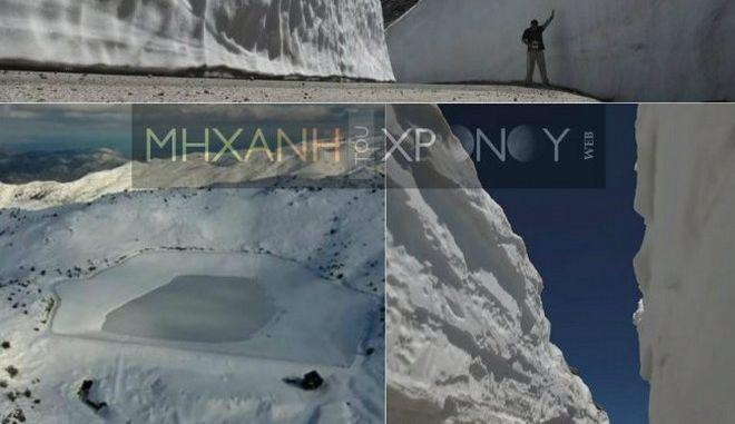 Μηχανή του Χρόνου: Γιατί δεν λιώνουν τα χιόνια στον Ψηλορείτη;
