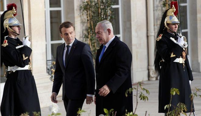 Κάλεσμα Μακρόν σε Νετανιάχου: Θαρραλέες χειρονομίες προς τους Παλαιστίνιους