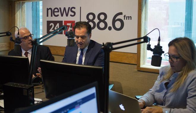 Άδωνις Γεωργιάδης στον News 24/7 στους 88,6: Οι Αριστεροί όταν παίρνουν εξουσία, κυβερνούν δεξιά