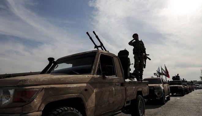 Κούρδοι μαχητές