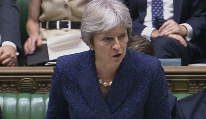 H πρωθυπουργός της Βρετανίας, Τερέζα Μέι