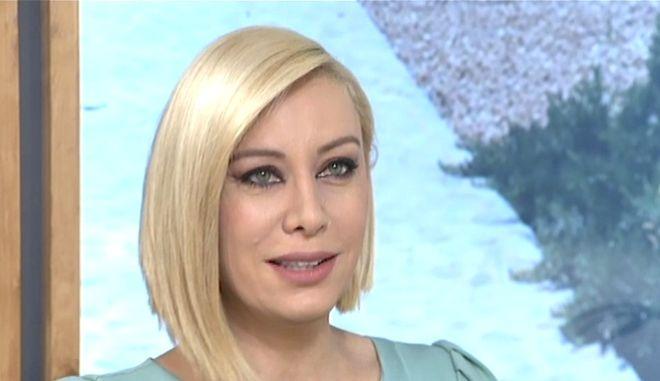 Η Αντριάνα Παρασκευοπούλου