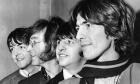 Οι Μπιτλς τον Φεβρουάριο του 1968 στο Λονδίνο. Από αριστερά, Πολ ΜακΚάρτνεϊ, Τζον Λένον, Ρίνγκο Σταρ και Τζορτζ Χάρισον.