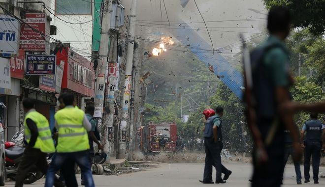 Έκρηξη στο Μπαγκλαντές (φωτογραφία αρχείου)