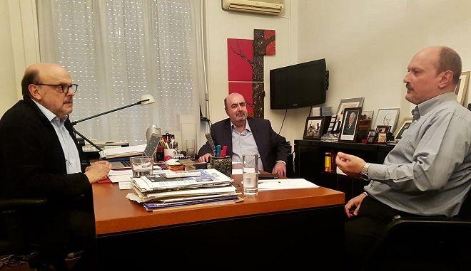 Ζυμώσεις στη λαϊκή δεξιά: Συνάντηση Αντώναρου με τους δύο πρώην γραμματείς των ΑΝΕΛ