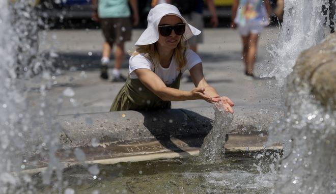 Αυξημένες θερμοκρασίες στην πόλη της Αθήνας