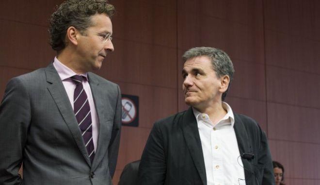 Συνεδρίαση του Eurogroup την Παρασκευή 14 Αυγούστου 2015,για την συμφωνία της Ελλάδας με τους δανειστές. (EUROKINISSI/ΕΥΡΩΠΑΪΚΗ ΕΝΩΣΗ)