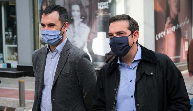Περιοδεία του προέδρου του ΣΥΡΙΖΑ Αλέξη Τσίπρα
