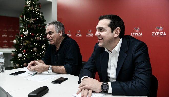 Συνεδρίαση του Πολιτικού Συμβουλίου της Κεντρικής Επιτροπής Ανασυγκρότησης του ΣΥΡΙΖΑ - Προοδευτική Συμμαχία