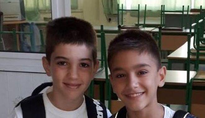 Τα δύο 11χρονα αγόρια που απήχθησαν από το σχολείο τους στην Κύπρο