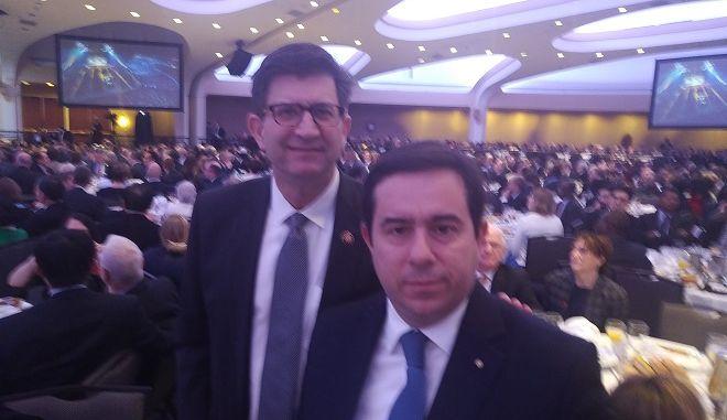 Σε εκδήλωση με τον Πρόεδρο Τραμπ ο Νότης Μηταράκης