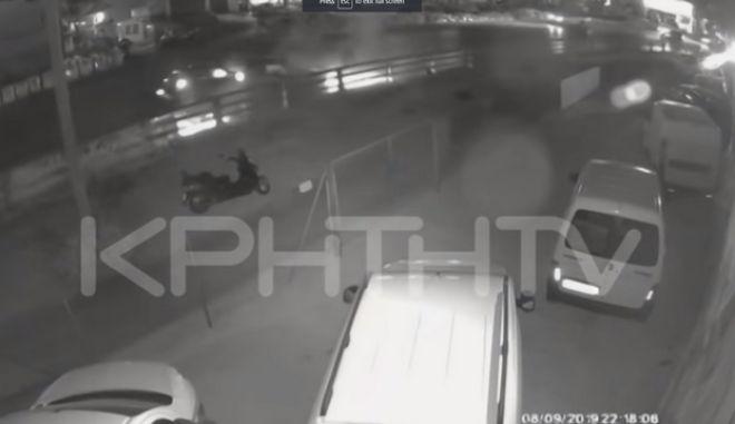 Κρήτη: Η στιγμή του θανατηφόρου τροχαίου στο Ηράκλειο