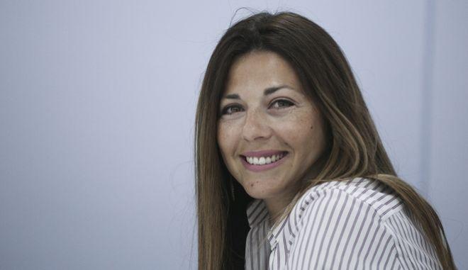 Η αναπληρώτρια εκπρόσωπος Τύπου της ΝΔ, Σοφία Ζαχαράκη