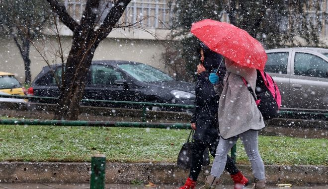 Έκτακτο δελτίο καιρού: Πού θα βρέξει, πού θα χιονίσει και πόσο το τριήμερο