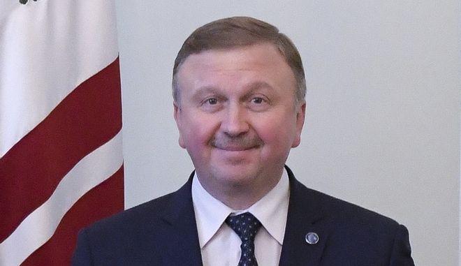 Αποπέμφθηκε ο πρωθυπουργός της Λευκορωσίας Αντρέι Κομπιάκοφ