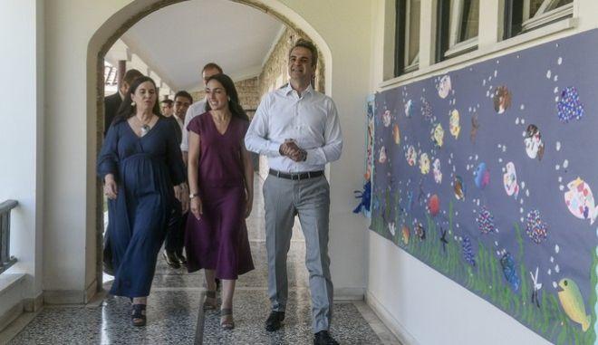 Ο Πρωθυπουργός Κυριάκος Μητσοτάκης, επισκεφθηκε το Κέντρο Προστασίας Παιδιού Αττικής «Η Μητέρα»