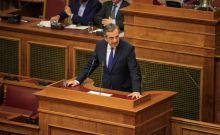 H σφοδρή επίθεση του Αντώνη Σαμαρά προς τον ΣΥΡΙΖΑ...