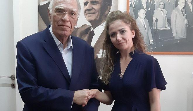 Η αδερφή του Κωνσταντίνου Κατσίφα επικεφαλής στο ψηφοδέλτιο Επικρατείας της Ένωσης Κεντρώων
