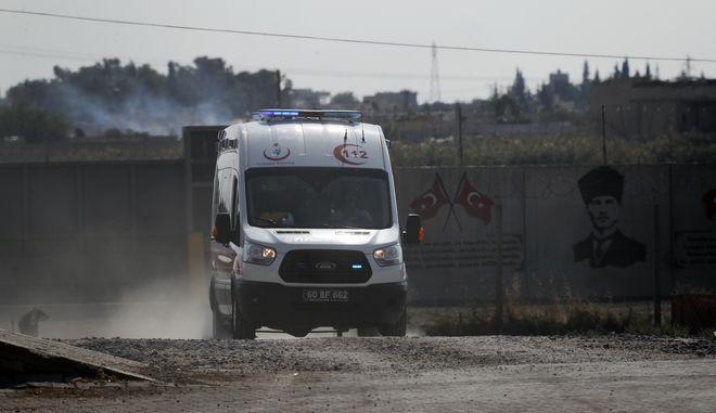 Ασθενοφόρο στη Συρία