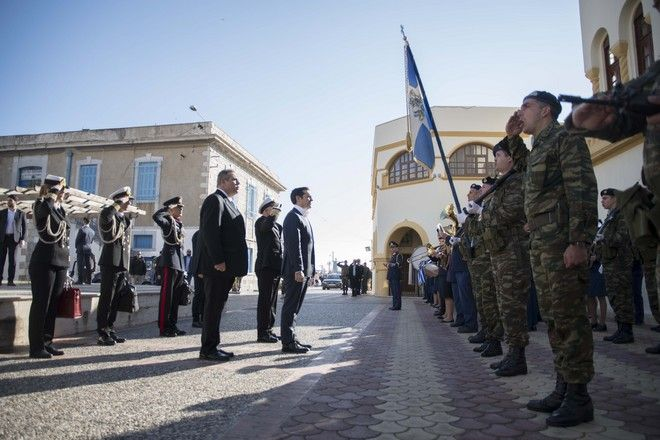 Τσίπρας από Κάλυμνο: Μήνυμα συνεργασίας, ειρήνης και αποφασιστικότητας στους γείτονες