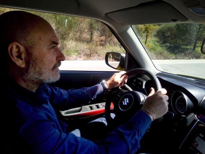 Οδήγηση στους δρόμους της Ανδαλουσίας
