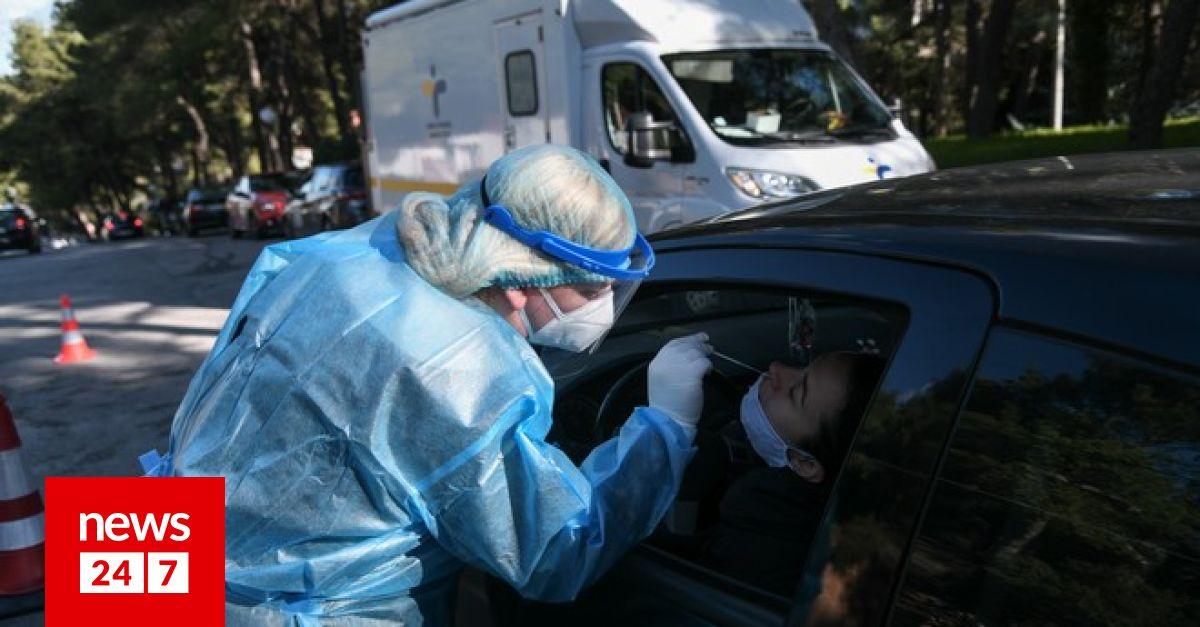 Κορονοϊός: 1955 νέα κρούσματα σήμερα στην Ελλάδα – 78 νεκροί, 749 διασωληνώσεις – Υγεία