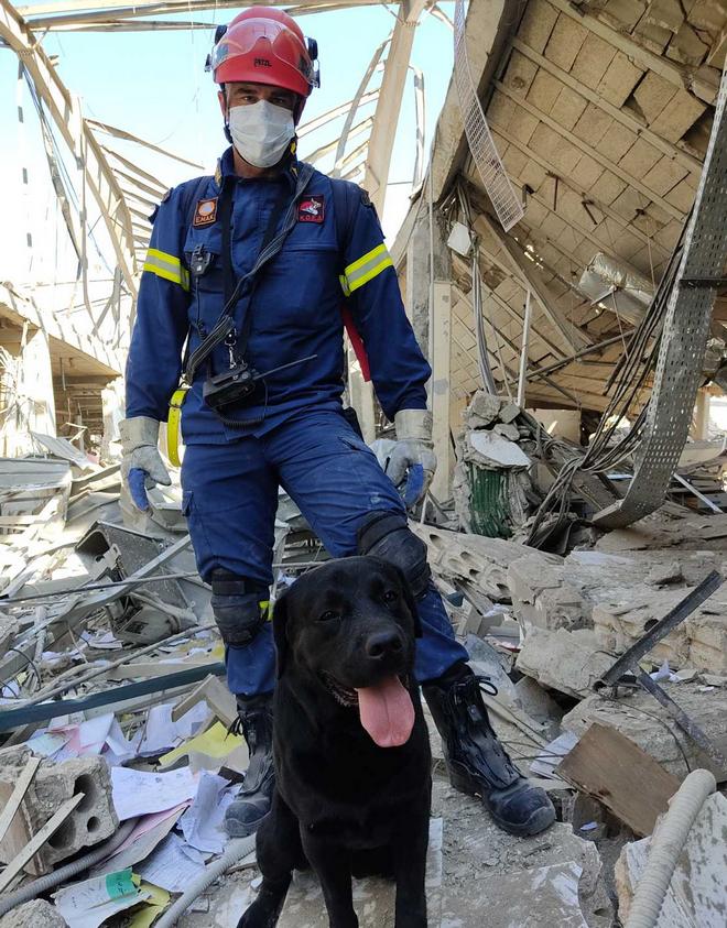 Η κόλαση της Βηρυτού μέσα από τα μάτια της ΕΜΑΚ