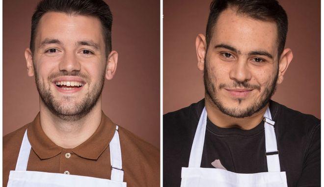 Οι δύο φιναλίστ του Master Chef Χρήστος και Τιμολέων