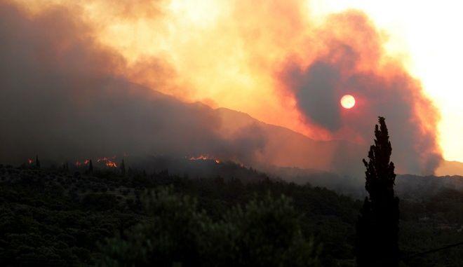 Φωτιά στη Σάμο - Φωτό αρχείου