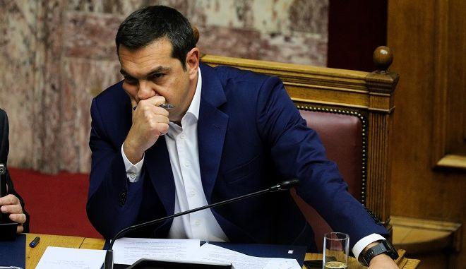 Φωτό αρχείου: Ο πρωθυπουργός Αλέξης Τσίπρας