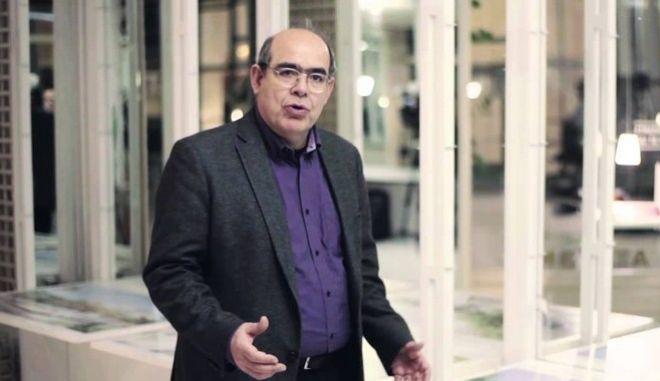 Ομιλία του καθηγητή Παναγιώτη Τουρνικιώτη στο πλαίσιο των «Καταθέσεων Πολιτισμού» στην Τράπεζα της Ελλάδος