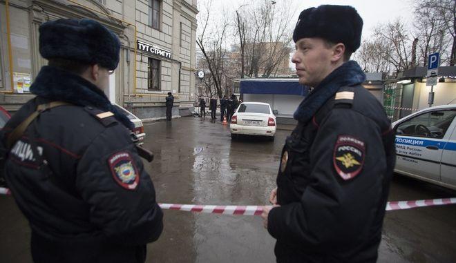 Αστυνομικές δυνάμεις στην Ουκρανία
