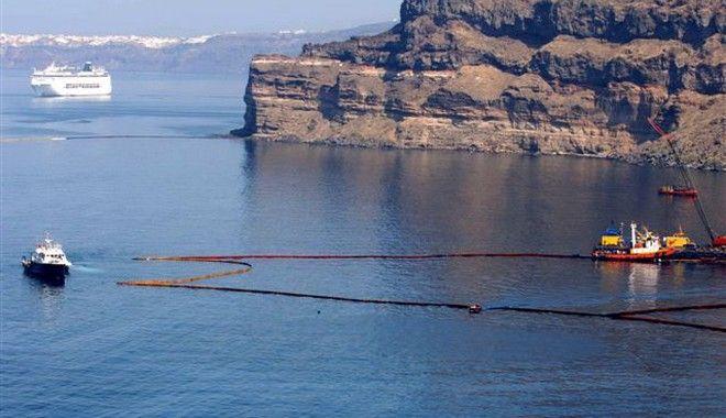 Απορρύπανση στην περιοχή του ναυαγίου του Sea Diamond