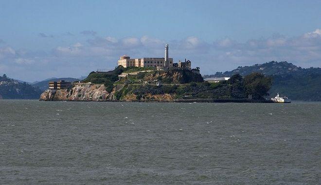 Οι πρώην φυλακές Αλκατράζ στον κόλπο του Σαν Φρανσίσκο