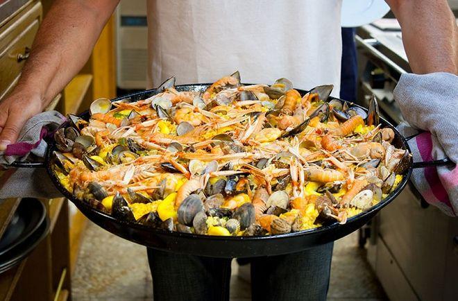 Στην περιοχή των Βάσκων, η παραδοσιακή κουζίνα έχει σαν βάση  το ψάρι και τα θαλασσινά