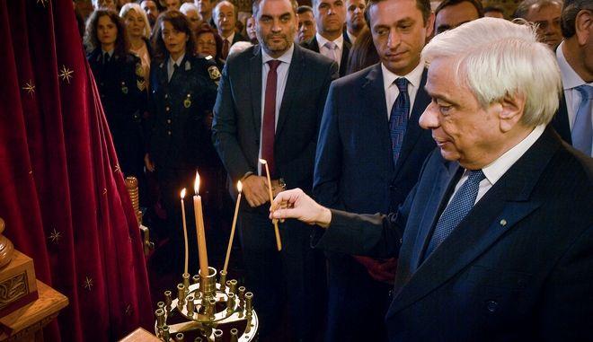 Εορτασμός της Υπαπαντής του Χριστού στην Καλαμάτα παρουσία του Προέδρου της Δημοκρατίας Προκόπη Παυλόπουλου.
