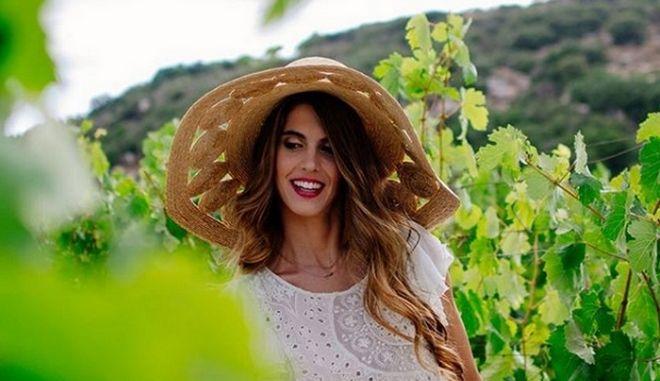 H Μαργαρίτα Παπανδρέου πρωταγωνίστρια σε διαφημιστική καμπάνια για κρασί