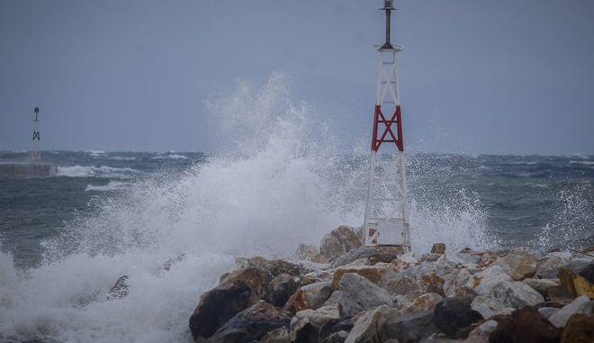Ισχυροί άνεμοι στο Αιγαίο