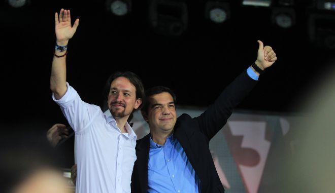 Τσίπρας: Η λιτότητα ηττήθηκε πολιτικά και στην Ισπανία