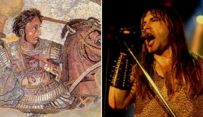 Μηχανή του Χρόνου: Το τραγούδι των Iron Maiden για τον Μέγα Αλέξανδρο και τον ελληνισμό