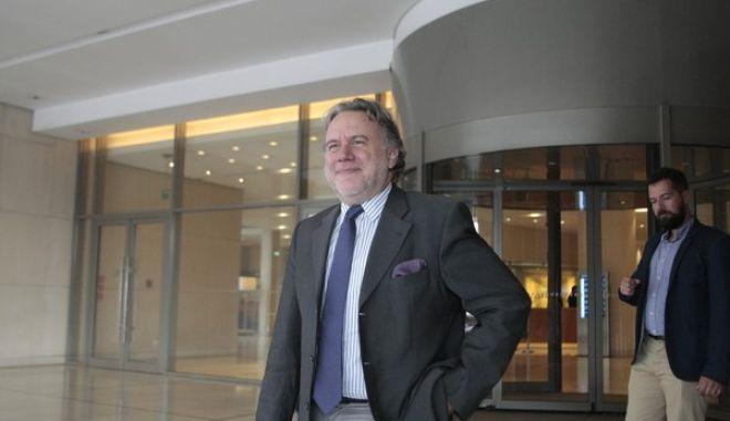 Συναντήσεις των εκπροσώπων των δανειστών με Έλληνες αξιωματούχους με αντικείμενο τον συντονισμό για την εφαρμογή του προγράμματος. Στο στιγμιότυπο ο υπουργός Εργασίας Γίωργος Κατρούγκαλος. (EUROKINISSI/ΣΤΕΛΙΟΣ ΣΤΕΦΑΝΟΥ)