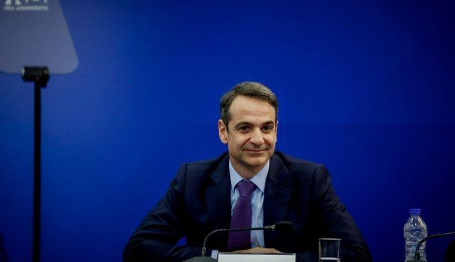 Συνεδρίαση της νέας πολιτικής γραμματείας της Νέας Δημοκρατίας με ομιλία του Προέδρου του κόμματος Κυριάκου Μητσοτάκη