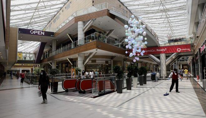 Εμπορικό κέντρο στην Αθήνα