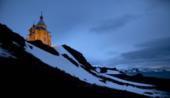 Εκκλησία στο νησί King George, Ανταρκτική