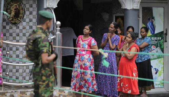 Γυναίκες στη Σρι Λάνκα την Κυριακή