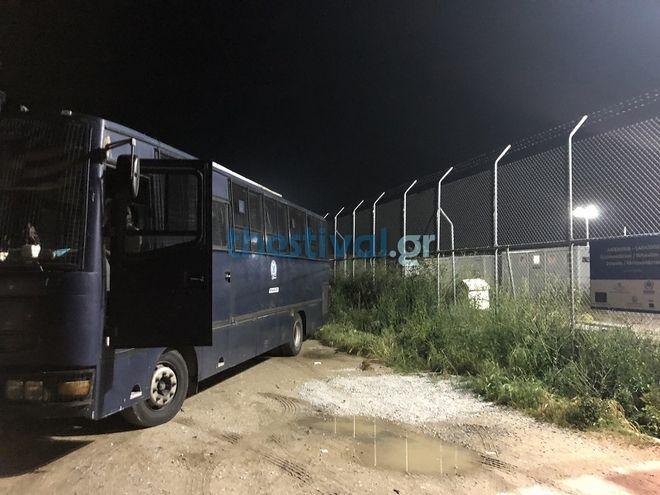 Θεσσαλονίκη: Νύχτα επεισοδίων στο κέντρο φιλοξενίας προσφύγων στα Λαγκαδίκια