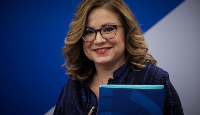 Η υποψήφια ευρωβουλευτής της ΝΔ, Μαρία Σπυράκη