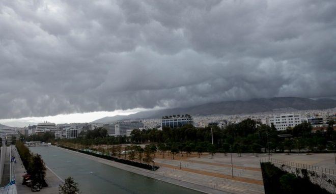 Κύμα κακοκαιρίας πάνω από την Αθήνα