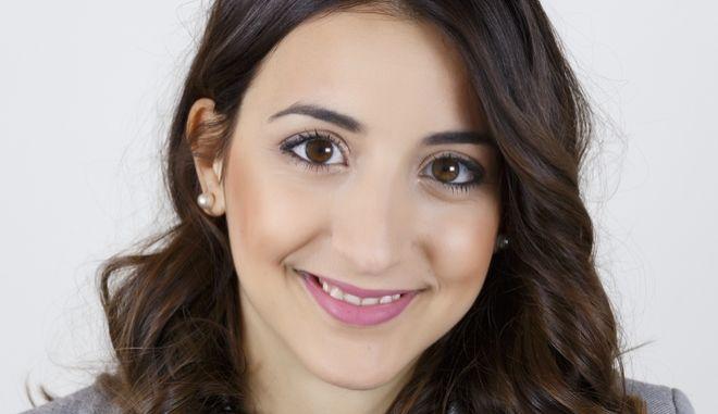 Η Ελένη Χατζηδημητρίου, Πρόεδρος του Δημοτικού Συμβουλίου στον Άγιο Δημήτριο και εκ νέου υποψήφια δημοτική σύμβουλος.