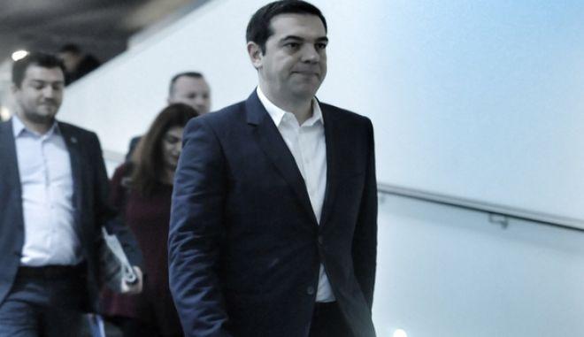 Κεντρική Επιτροπή του ΣΥΡΙΖΑ, στο Συνεδριακό κέντρο Εθνικής Ασφαλιστικής, Αθήνα, Σάββατο 12 Δεκεμβρίου 2015. (EUROKINISSI/ΤΑΤΙΑΝΑ ΜΠΟΛΑΡΗ)